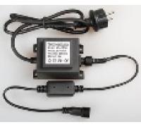 Трансформатор 220/24 В, 30 Вт, черный