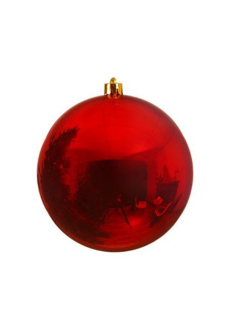 Пластиковый шар 140 мм, красный