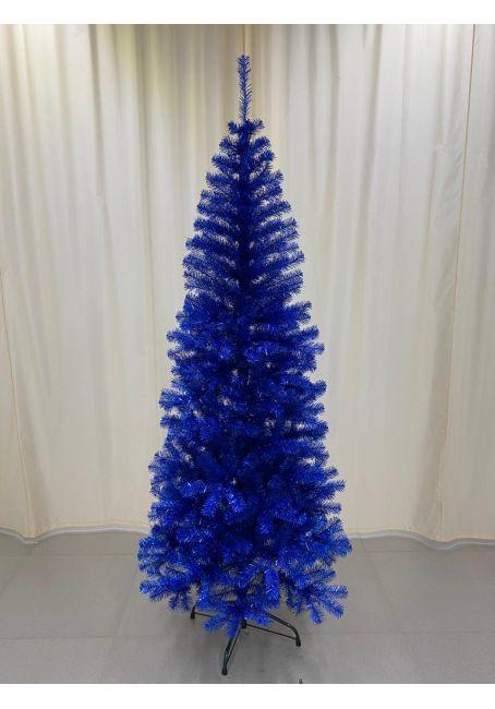 Ель искусственная Голограмма синяя