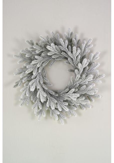 Венок рождественский Версальский  заснеженный